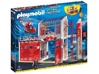 Playmobil Óriás túzoltóállomás ÚJ