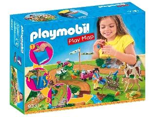 Playmobil Pónilovalgás térképpel