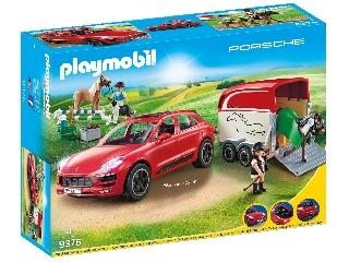 Playmobil Porsche Macan GTS lószállítóval