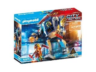 Playmobil: Rendőr-robot - Különleges bevetés