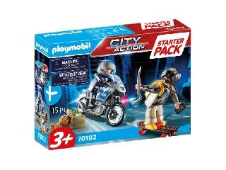 Playmobil: Rendőrség kiegészítő szett