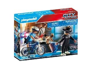 Playmobil: Rendőrségi bicikli - A zsebtolvaj nyomában