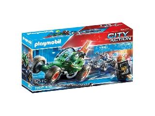 Playmobil: Rendőrségi gokart - A széfrabló nyomában