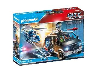Playmobil: Rendőrségi helikopter - A menekülő autós nyomában
