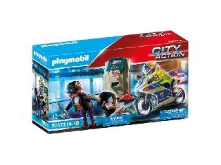 Playmobil: Rendőrségi motor - A pénztolvaj nyomában