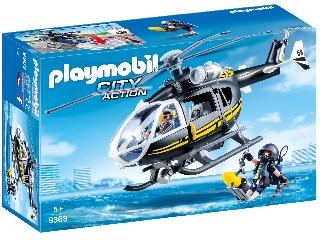 Playmobil Speciális egység helikoptere