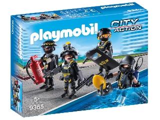 Playmobil Speciális egység kommandósok