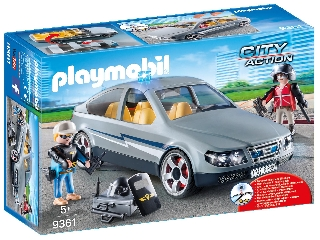 Playmobil Speciális egység ügynöki kocsija