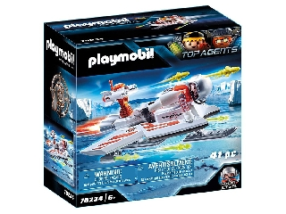 Playmobil Spy Team Siklórepülője