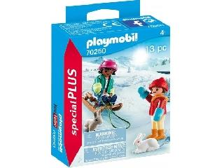 Playmobil Szánkózó gyerek