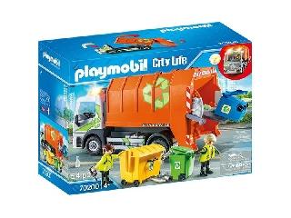 Szelektív hulladékgyűjtő kukásautó