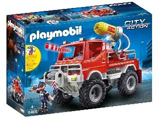 Playmobil tűzoltóautó kábeldobbal 9466