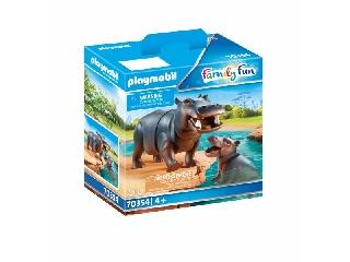 Playmobil: Víziló kicsinyével