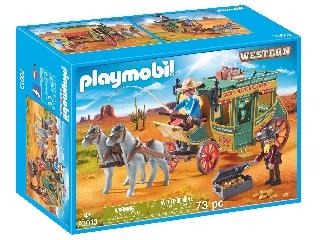 Playmobil Western lovaskocsi