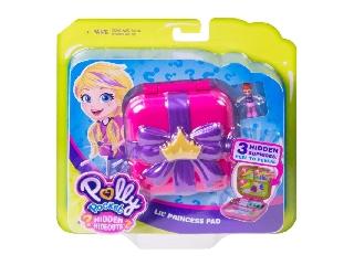 Polly Pocket meglepetés helyszínek Kis hercegnő rejtekhely
