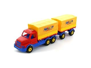 Ponyvás pótkocsis teherautó 76 cm
