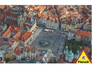 Prága légifelvétele 1000 db-os puzzle Piatnik