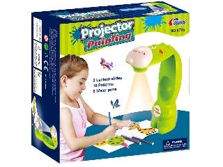 Projektor - Kivetítő 3 diakoronggal