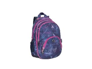 Pulse hátizsák, 2in1, notebook tartóval és audió csatlakozóval - Teens Violet Universe