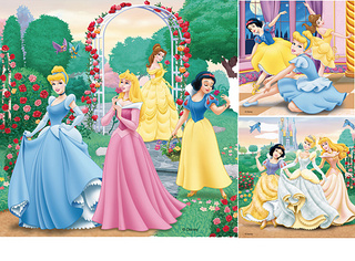 Hercegnők  3*49 darabos