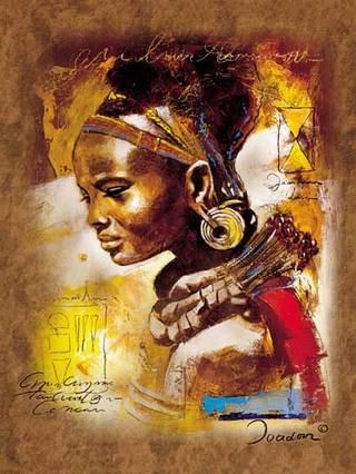 Afrikai szépség  1000 darabos