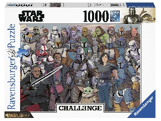 Puzzle 1000 db - Baby Yoda