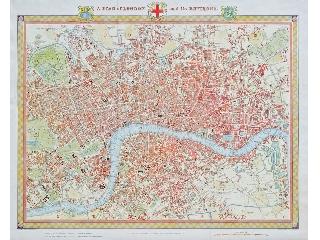 Puzzle 1000 - London térkép 1831