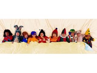 Anne Geddes: Tízen az ágyban - 1000 darabos panoráma kirakó