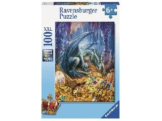 Puzzle 100 db - A kincsesbarlang sárkány