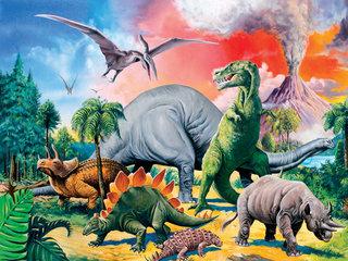 Dinoszauruszok  100 darabos
