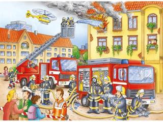 Tűzoltók 100 darabos kirakó