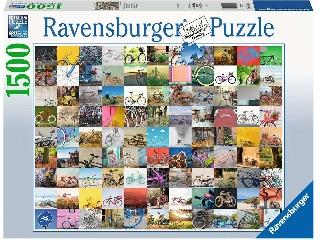 99 bicikli puzzle 1500 db-os