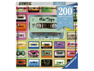 Puzzle 200 db - Kazetták