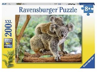 Puzzle 200 db - Koala család