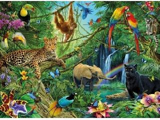 Dzsungel 200 darabos kirakó