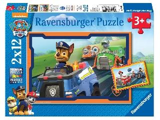 Puzzle 2x12 db - Mancs Őrjárat