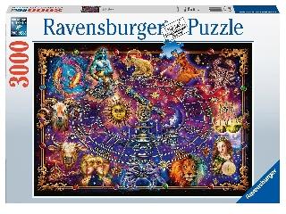 Puzzle 3000 db - Csillagjegyek