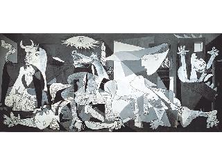 Guernica - 3000 darabos panoráma kirakó