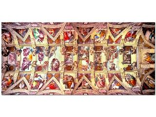 Sixtus kápolna - 3000 darabos kirakó
