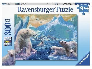 Puzzle 300 db - Utazás a jegesmedvékhez
