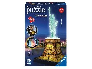 Puzzle 3D  - Szabadságszobor világító