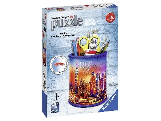 Puzzle 3D 54 db - Ceruzatartó New York