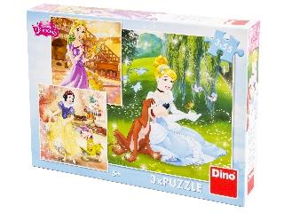 Puzzle 3x55 db - Hercegnő vagyok