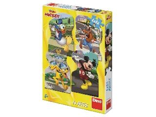 Puzzle 454 db - Mickey a városban