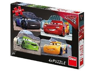 Puzzle 4x54 db - Verdák 3.