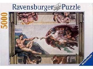 Teremtés 5000 db-os puzzle