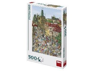 Puzzle 500 db - Tower híd