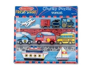 Puzzle 9 db-os járművek  7259