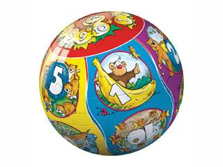 Számok 24 darabos puzzleball