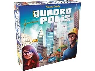 Quadropolis társasjáték - magyar nyelvű